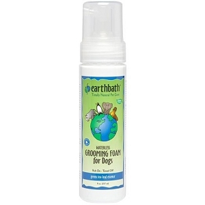 EarthBath Green Tea Leaf Essence Waterless Grooming Foam For Dogs