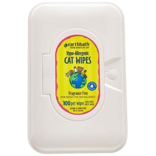 EarthBath Hypo-Allergenic Cat Wipes