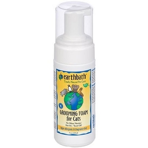 EarthBath Hypo-Allergenic Grooming Foam for Cats