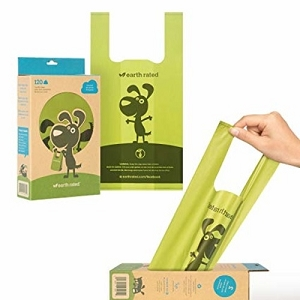 Earth Rated 120 Unscented Easy-tie Handle Poop Bags