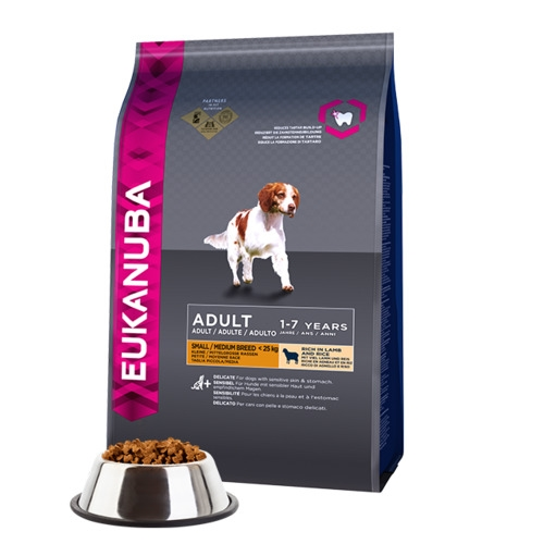 Eukanuba Lamb & Rice Adult Dry Dog Food Small & Medium Breeds