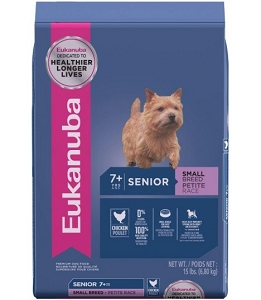 Eukanuba Senior Small Breed Chicken Dry Dog Food