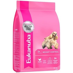 Eukanuba Weight Control Adult Dry Dog Food for Small & Medium Breeds