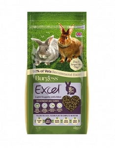 Burgess Excel Tasty Nuggets Overweight Adult Rabbits