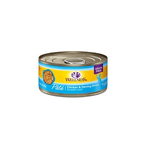 Wellness Canned Cat Food - Chicken & Herring 5.5oz