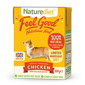 Naturediet Feel Good Dog Food - Chicken