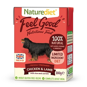 Naturediet Feel Good Dog Food - Chicken & Lamb