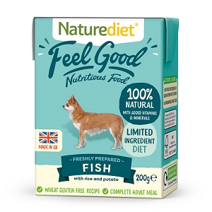 Naturediet Feel Good Dog Food - Fish
