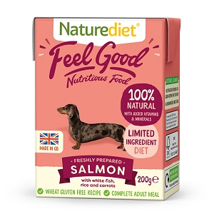 Naturediet Feel Good Dog Food - Salmon