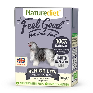 Naturediet Feel Good Dog Food - Senior Lite