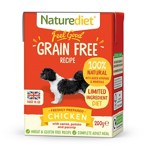 Naturediet Feel Good Grain Free Dog Food - Chicken