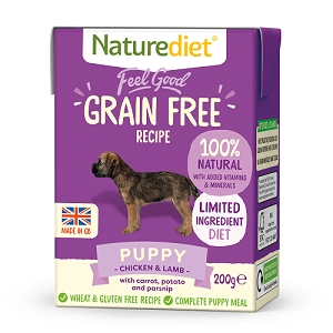 Naturediet Feel Good Grain Free Dog Food - Puppy