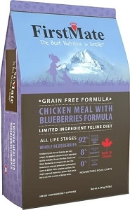 FirstMate Grain & Gluten-Free Chicken with Blueberries Formula Dry Cat Food