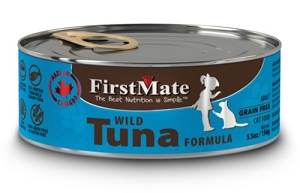 FirstMate Grain & Gluten Free Canned Wild Tuna Cat Food