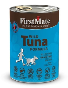 FirstMate Grain & Gluten Free Canned Wild Tuna Formula