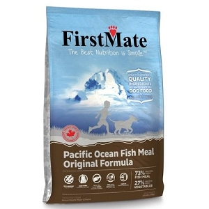 FirstMate Grain & Gluten Free Pacific Ocean Fish Meal Original Formula Normal Bites Dry Dog Food