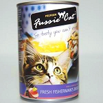 Fussie Cat Fresh Fisherman Basket, Canned Cat Food