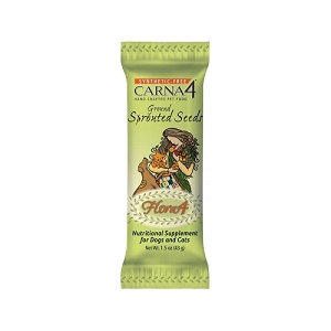 Flora4 Ground Sprouted Seeds Food Topper 43g