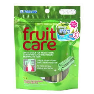 FORCANS Fruit Care Dental Chew Green Apple