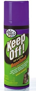 Four Paws Keep Off! Indoor & Outdoor Cat & Kitten Repellent 6oz