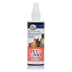 Four Paws Pet Aid Med Anti-Itch Spray 8oz