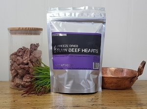 [CLEARANCE SALE - EXPIRY FEB 2021] Freeze Dry Australia Freezed Dried Diced Beef Hearts