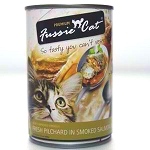 Fussie Cat Fresh Pilchard in Smoked Salmon Jelly, Canned Cat Food