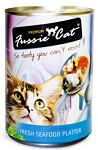 Fussie Cat Fresh Seafood Platter, Canned Cat Food