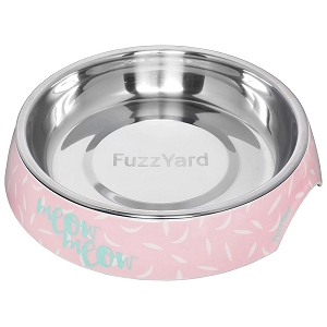 FuzzYard Melamine Cat Bowl Featherstorm