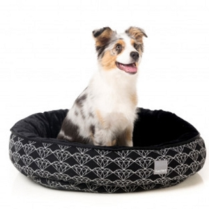 FuzzYard Black Diamond Reversible Bed