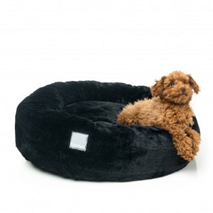 FuzzYard Black Eskimo Bed