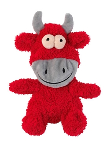 FuzzYard Flat Out Nasties Jordan the Bull Plush Toy