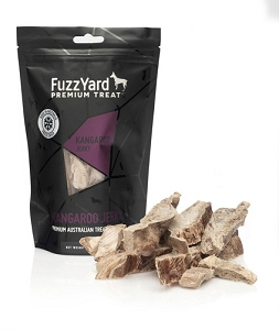 FuzzYard Freeze Dried Kangaroo Jerky Dog Treat