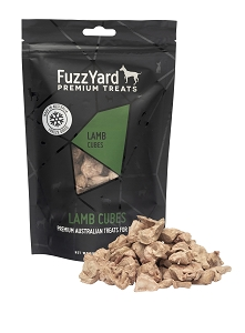 FuzzYard Freeze Dried Lamb Cubes Dog Treat