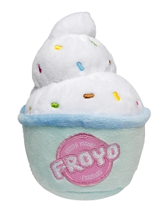 FuzzYard Frozen Yoghurt Dog Plush Toy