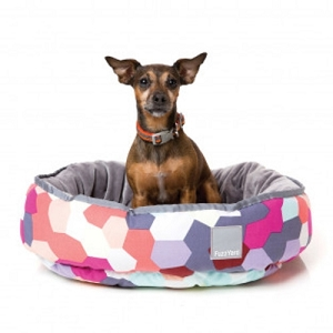 FuzzYard Kaleidoscope Reversible Bed