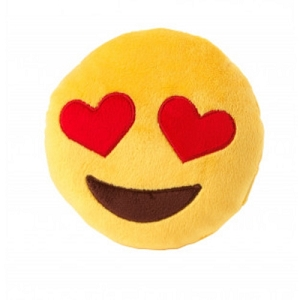 FuzzYard Love Eye Emoji Plush Toy