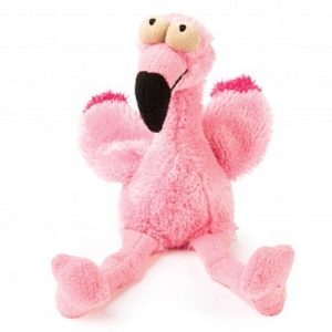 FuzzYard Neighbourhood Nasties Flo the Flamingo Plush Toy