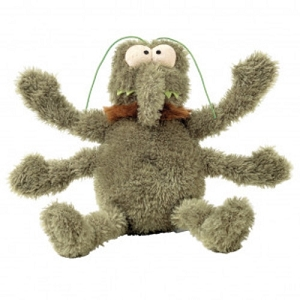 FuzzYard Neighbourhood Nasties Scratchy the Flea Plush Toy