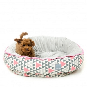 FuzzYard Pink Rock Reversible Bed