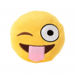 FuzzYard Tongue Out Emoji Plush Toy