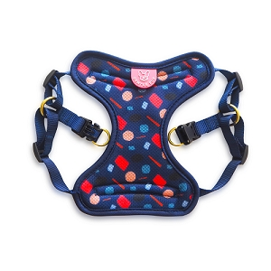 Gentle Pup Playful Polly Easy Harness Small