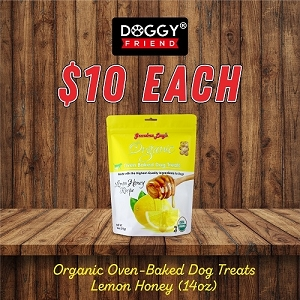 [JAN 2020 Promo] Grandma Lucy's Organic Oven Baked Lemon Honey Biscuits