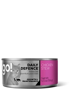 GO! DAILY DEFENCE Canned Chicken Stew Recipe Cat Food