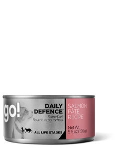 GO! DAILY DEFENCE Canned Salmon Pâté Recipe Cat Food
