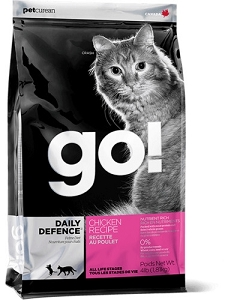 GO! DAILY DEFENCE CHICKEN RECIPE Dry Cat Food
