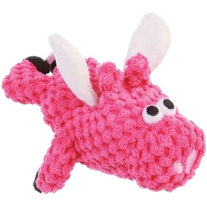GoDog Pink JustForMe Flying Pig Plush Toy