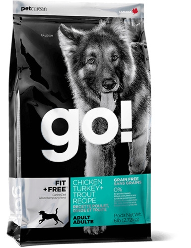 GO! FIT + FREE Chicken,Turkey & Trout Recipe Dry Dog Food