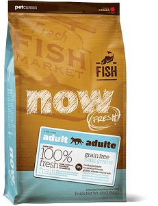 GO! NOW FRESH Grain Free Fish Recipe Adult Dry Cat Food