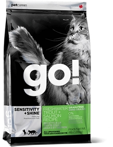 GO! SENSITIVITY + SHINE Freshwater Trout + Salmon Recipe Dry Cat Food
